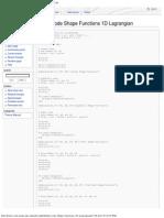 Matlab Code Shape Functions 1D Lagrangian - KratosWiki