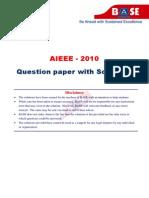 AIEEE-2010-Paper+Solutions