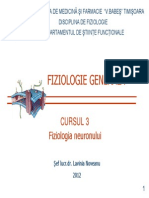 Curs 3 Neuron_2012 Fiziologia neuronului