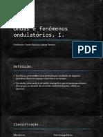 Ondas e Fenomenos Ondulatorios I