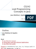 Java WebStar, Applets & RMI