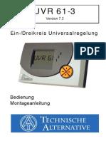 Hms-control Uvr61 v7.2 Ba