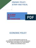 Isce03 - Bangalore-economic Policy
