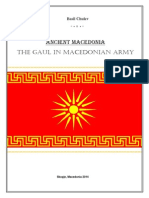 The Gaul in Macedonian Army