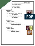 perisian digital, audio, video