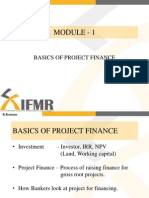 Project and Infrastructure Finance Slides Module1_Ver3