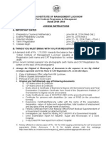 Iim Lucknow Pgpm Admission Guidlines