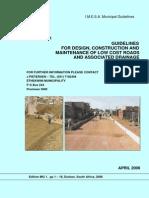 Guidelines - IMESA - Low Cost Road 09Jun2005rev