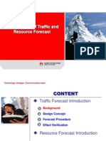 Traffic & Resource Forecast Principle