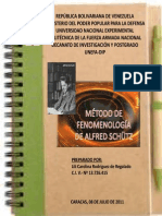 3.4 Metodo de La Fenomenologia de Alfred Schutz