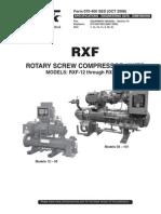 RXF Specs