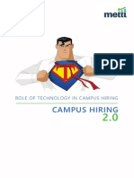 Campus Recruitment2.0 - Role of Technology in Campus Hiring