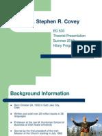 Stephen Covey Presentation