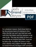 Gods Grand Story2 (Life of Faith)