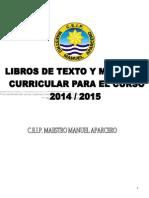 Libros de Texto 2014-2015
