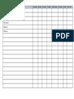 Weekly Scheddle Tasks