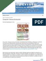 Creacion vs Evolucion HTML m 1