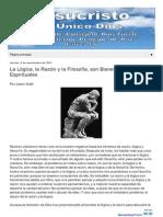 La Logica La Razon y La Filosofia Son HTML m 1