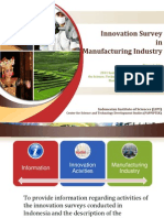 Innovation Survey Indonesia