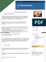 Chandramb Blogspot in 2008 04 Windows System Administrator i