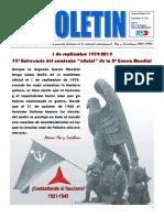 Boletín nº 15 del Ateneo Paz y Socialismo, Septiembre de 2014