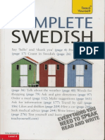 2 Complete Swedish Teachyourself