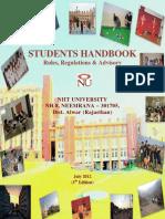 Student Handbook - July 2012