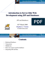 Week7 Jsp and Databases
