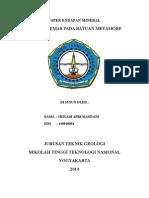 ENDAPAN EMAS PADA BATUAN METAMORF.doc