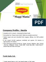 Maggi Mania...G10 Sec-B