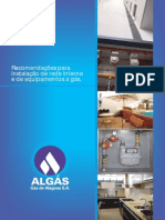 ALGÁS - Recomendações Segurança Instalação de Gás