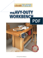 Heavy Duty Workbench