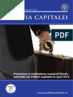 Revista Politia Capitalei - Ianuarie 2014