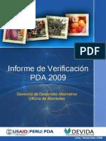 Informe Final Verificacion 2009