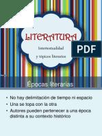 Tópicos Lit e Intertextualidad