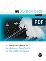 Designing Education Projects