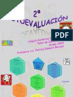 2ª TABLA DE AUTOEVALUACIÓN