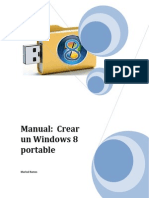 Manual Crear Windows 8 Portable
