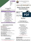 MBC Bulletin- August 31, 2014