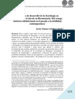 CIEN AÑOS DE DESARROLLO DE LA SOCIOLOGIA EN PARAGUAY - CABALLERO MERLO - PORTALGUARANI