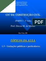 2a Aula_Licitações Públicas e Particulares