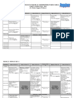 Jadwal Blok 22 Ked. Keluarga 2012