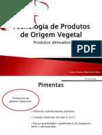 Tecnologia de Produtos de Origem Vegetal