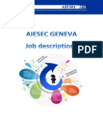 Job Description AIESEC Geneva 1415