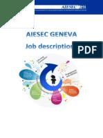 Job Description AIESEC Geneva 1415