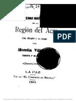 Guerra Irregular en La Region Del Acre