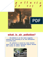 Air Pollution and Its Effects