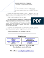 Cálculo de Reatores – Faenquil
