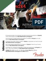 Fender ElectricGuitars Manual (2011) Spanish
