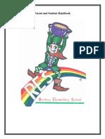 rainbow student handbook